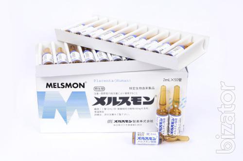 Лаеннек и Мелсмон Японского производства – плацентарные препараты