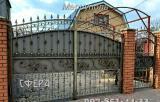 Кованые ворота, распашные, откатные, решетчатые, металлические калитки