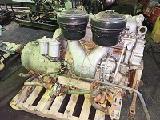 Судовой двигатель ЯАЗ-204 и реверс-редуктор
