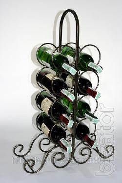 Stands for bottles, mini-bars, gun-carriages, wine