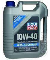 LIQUI MOLY SAE 10W-40 MoS2 LOW friction, 5 л.