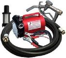 A pump for pumping diesel fuel is very light, portable Kit Battery, 12 V, 40 l/min