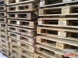 The warehouse in Donetsk.Pallets, Euro pallets.