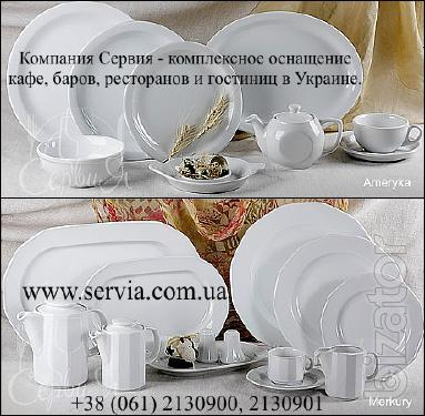 Cervia - dishes, restaurant service