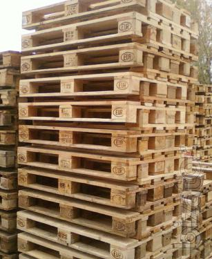 Pallets 1200x800 and 1200x1000