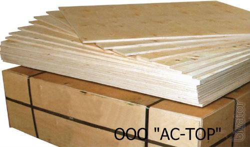The plywood (waterproof), PSF (high resistance), laminated