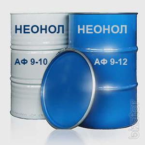 The neonol AF 9-10 and Neonol AF 9-12