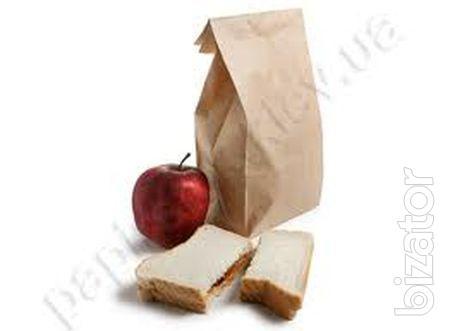 Paper packaging fast food