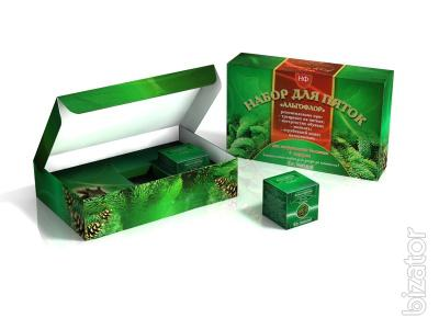 Produced a cardboard box on teas and ointments, perfume and confectionery industry