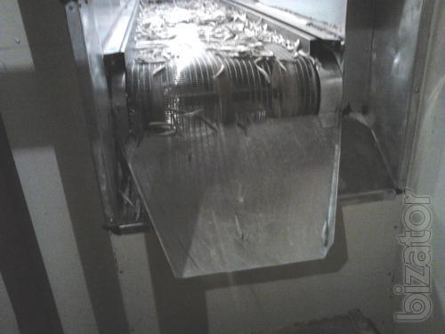 Shock freezing manufacturing under the order