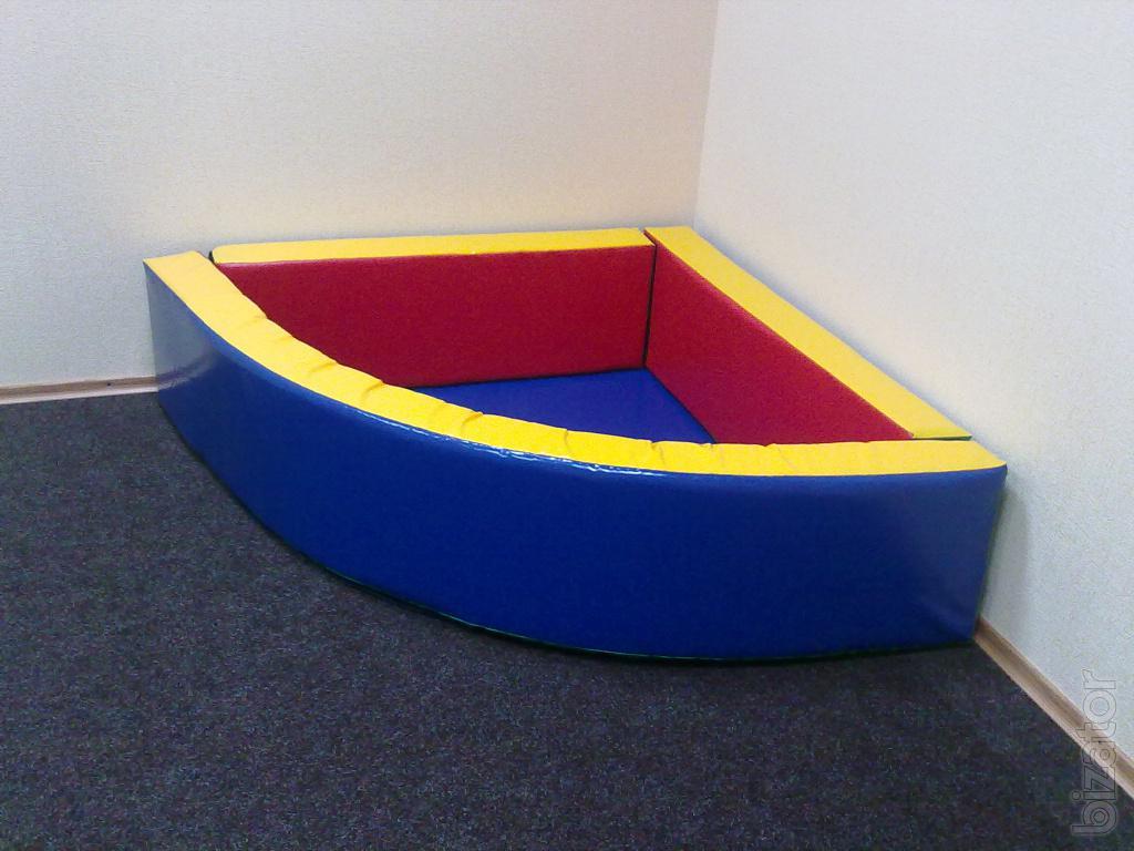 Как сделать сухой бассейн 497