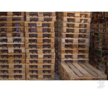 Sell wooden pallets used