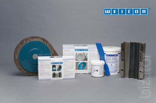 WEICON HB-300 Filled steel epoxy mastic