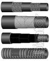 delivery hose reinforced by a thread hot water,antifreeze