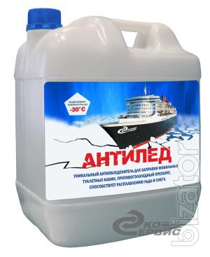 """Reagent for mobile toilet cabins """"anti-ice"""""""