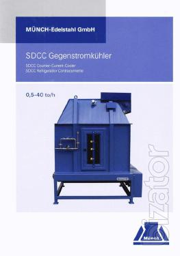 Counterflow pellet cooler series SD