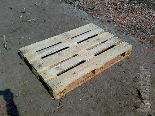 Pallets/used 1200*800 1st grade