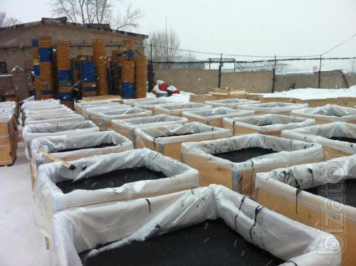 The Russian bitumen Packed