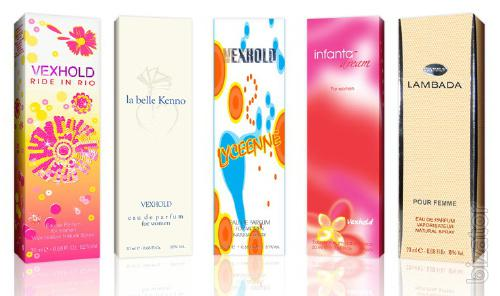 Packaging for cosmetics and perfumes