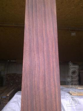 Mahogany Mahogany. Edged Board 25,40,60 mm