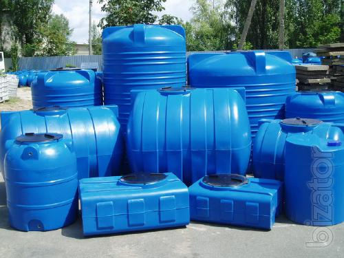 Plastic tanks, plastic tanks, plastic container (85 liters)