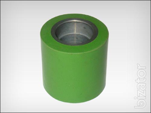 Pinch rollers for machines for lamination profiles