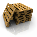 The pallet is non-standard, 1200x1000
