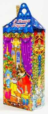 Cardboard Christmas packaging for confectionery products