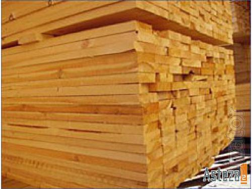 Forest, timber, boards in the range, Simferopol
