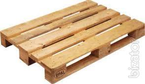 The new pallets, wooden sell