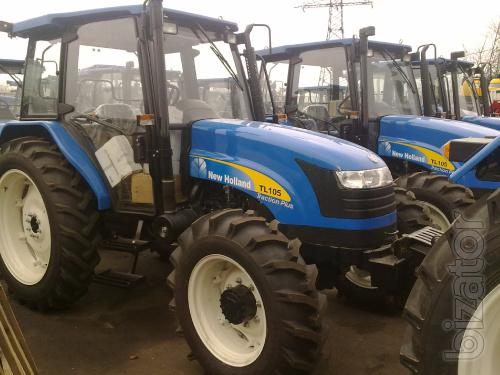 Sell tractor New Holland TL 105. Power of 105 HP
