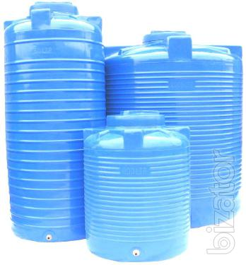 Plastic tanks, reservoirs, tanks up to 20 000 l of double-layer