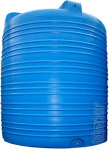 Sell plastic containers, tanks, water tanks
