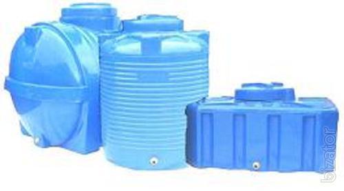 Plastic barrels for water in Kiev and Kiev region