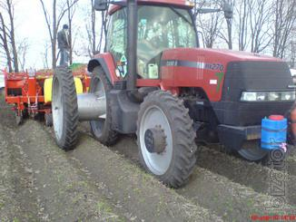 Tires and wheels for agricultural machinery