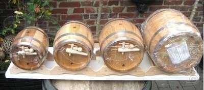 Production: oak barrel