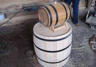 Sell oak barrels for wine, pickles,