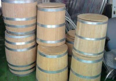Barrel oak for aging spirits and pickles