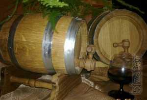 Sell wooden barrels, for drinks and salting