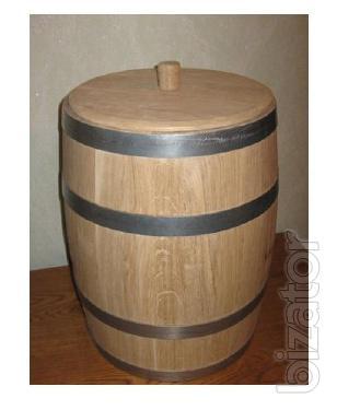 Oak barrels, manufacture, sale.