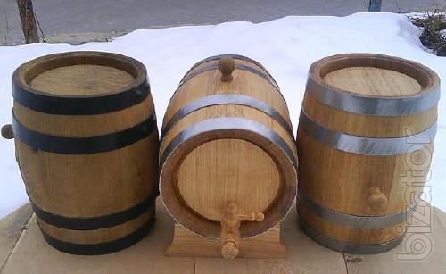 Barrel oak, Tubs, bathroom accessories, Glasses