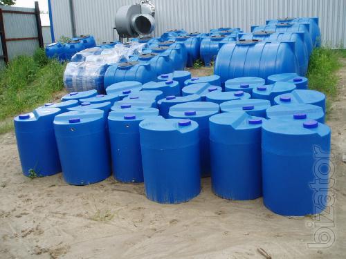 Plastic tanks, plastic tanks, plastic container