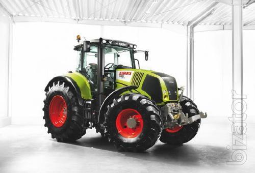 Tractor Claas Axion 850