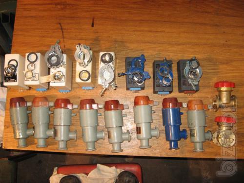 The vacuum electromagnetic valve type KVM