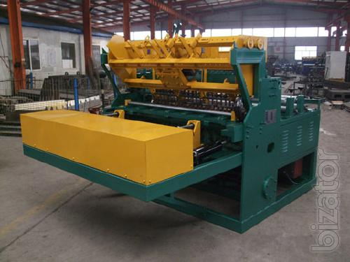 Machine for the production of welded masonry grid