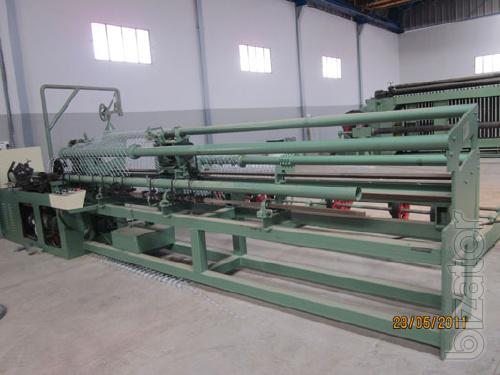 Machine for the production of netting