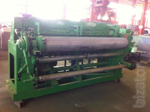 Machine for the production of welded mesh