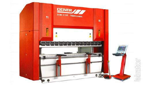 Hydraulic press brake with CNC Model TIGER