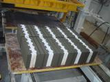 Line for the production of concrete blocks, pavers, curbs