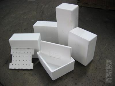Packing foam (Styrofoam):